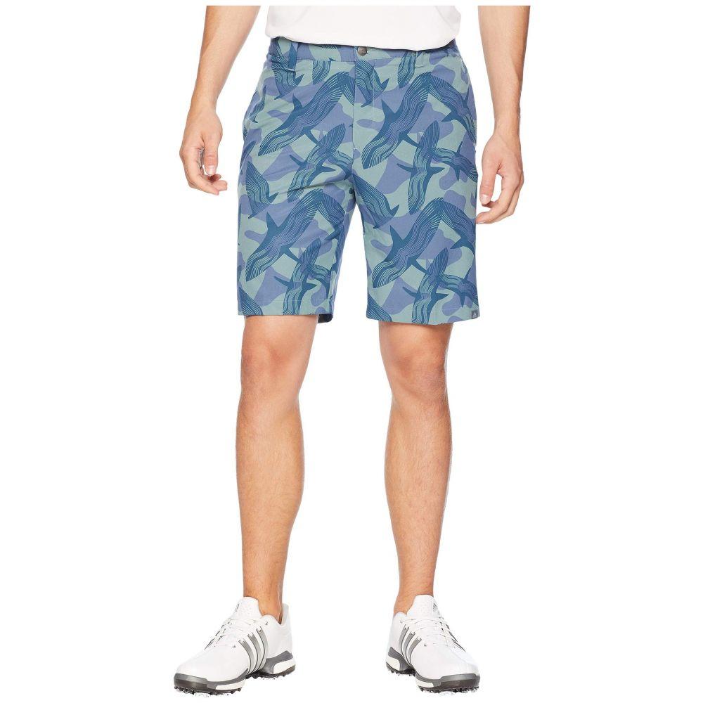 アディダス adidas Golf メンズ ボトムス・パンツ ショートパンツ【Ultimate Raven Print Shorts】Raw Green