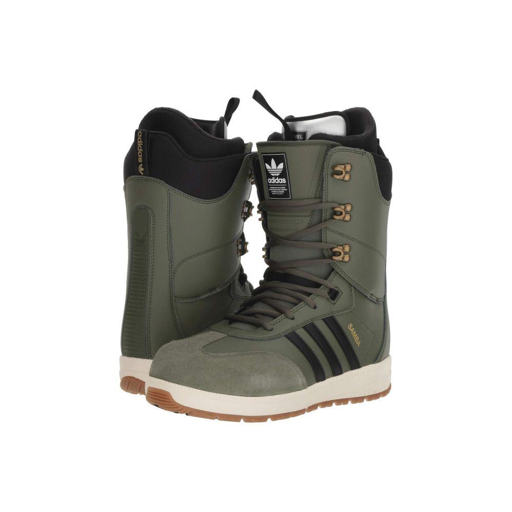 アディダス adidas Skateboarding メンズ ハイキング・登山 シューズ・靴【Samba ADV Snow Boot '18】Green