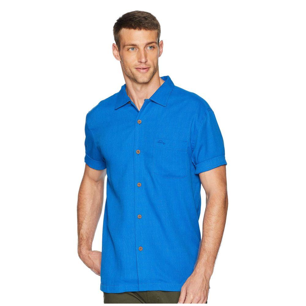 トミー バハマ Tommy Bahama メンズ トップス シャツ【Royal Bermuda Camp Shirt】Coabalt Sea