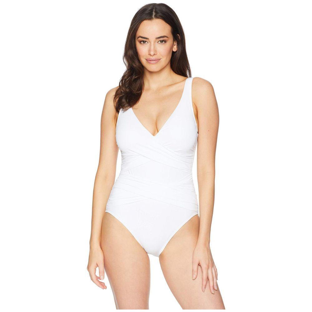トミー バハマ トミー Tommy Bahama Bahama レディース 水着・ビーチウェア Swimsuit】White ワンピース【Pearl Wrap-Front One-Piece Swimsuit】White, TEOMARINA:e5e619b0 --- officewill.xsrv.jp