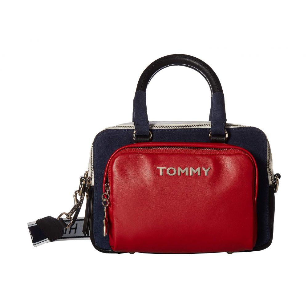 トミー ヒルフィガー Tommy Hilfiger レディース バッグ ボストンバッグ・ダッフルバッグ【Corporate Highlight Duffel】Red/Navy