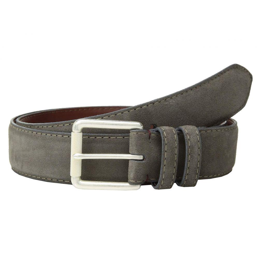 トリノレザー Torino Leather Co. メンズ ベルト【38 mm Italian Calf Suede】Grey