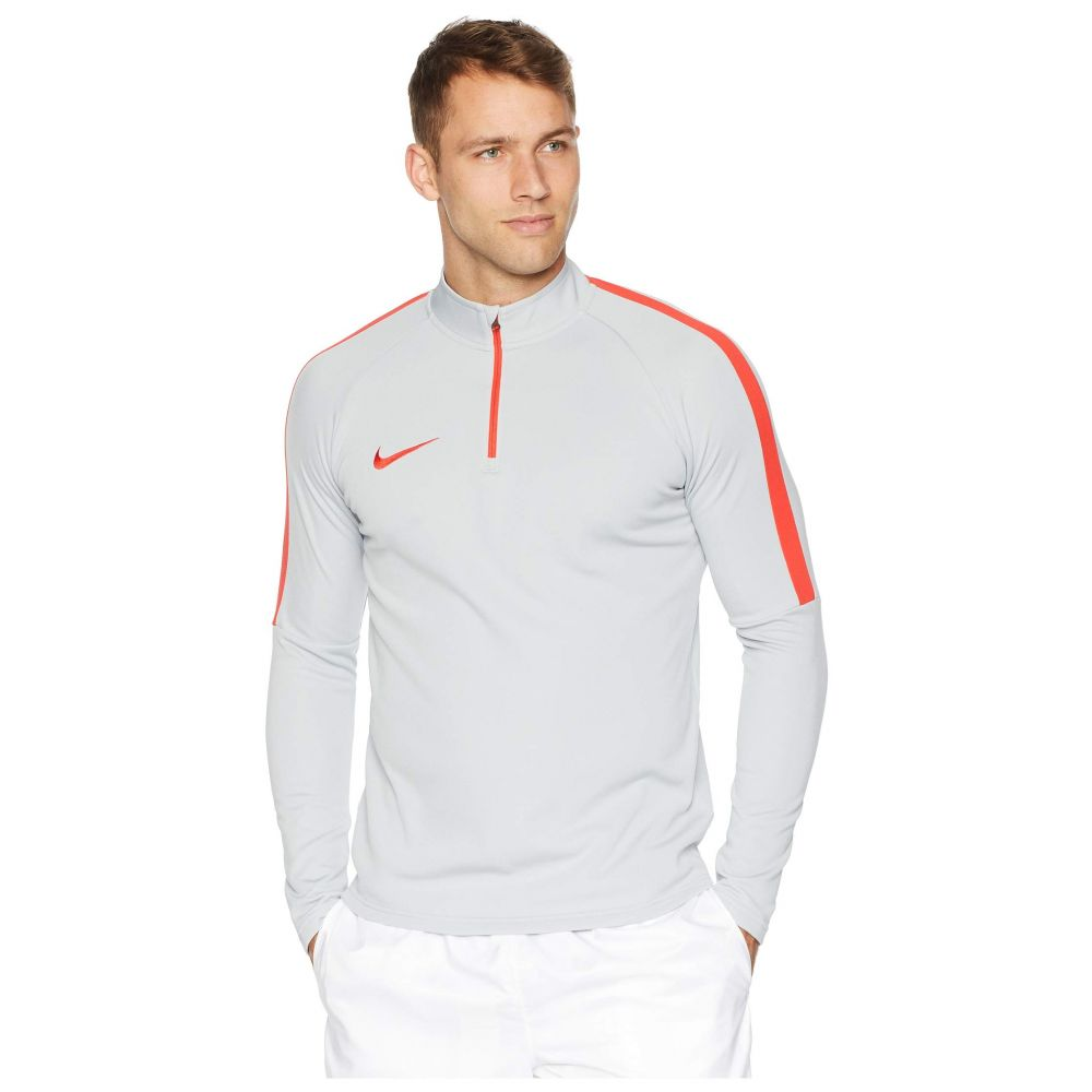 ナイキ Nike メンズ サッカー トップス【Dry 1/4 Zip Soccer Drill Top】Wolf Grey/Light Crimson/Light Crimson