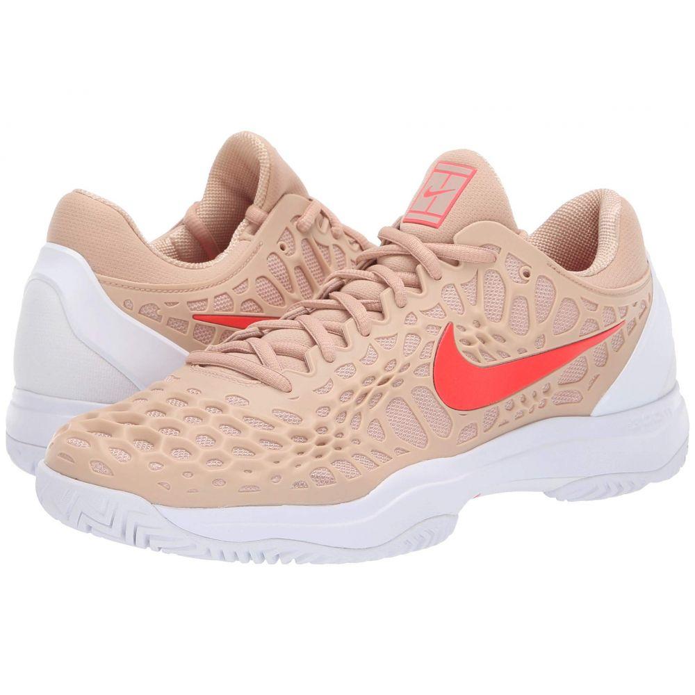 ナイキ Nike メンズ テニス シューズ・靴【Zoom Cage 3 HC】Bio Beige/Bright Crimson/Phantom/White
