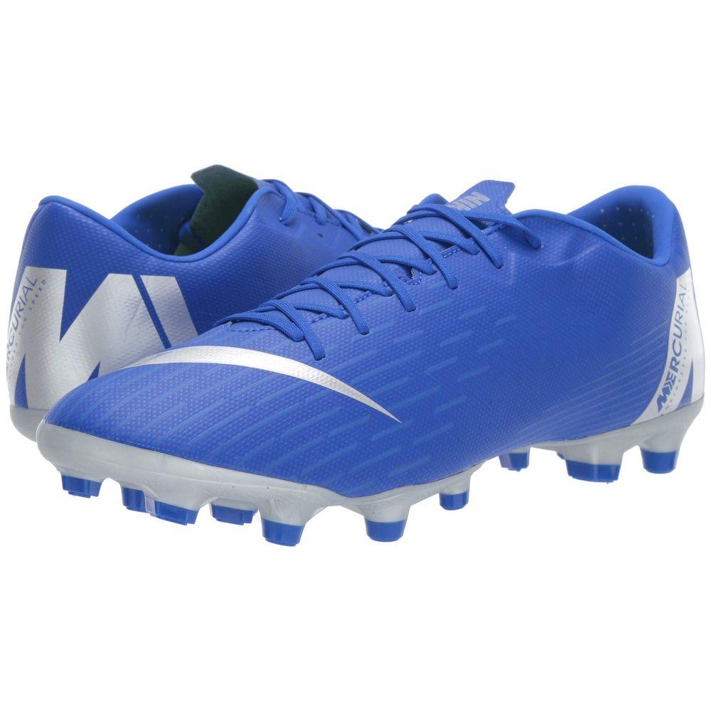 ナイキ Nike メンズ サッカー シューズ・靴【Vapor 12 Academy MG】Racer Blue/Metallic Silver/Black/Volt