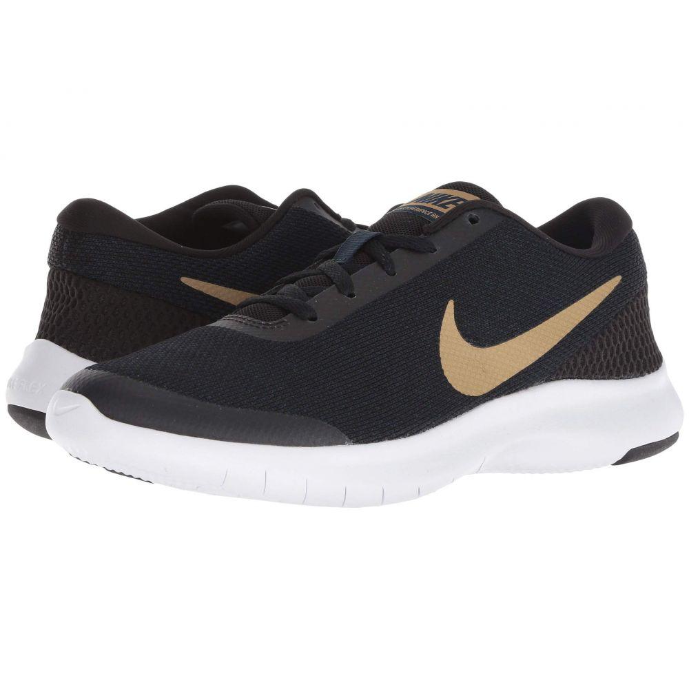 宅配便配送 ナイキ Nike レディース ランニング・ウォーキング シューズ・靴【Flex Experience RN 7】Black/Metallic Gold/Obsidian/White, 大山崎町 3854f66e