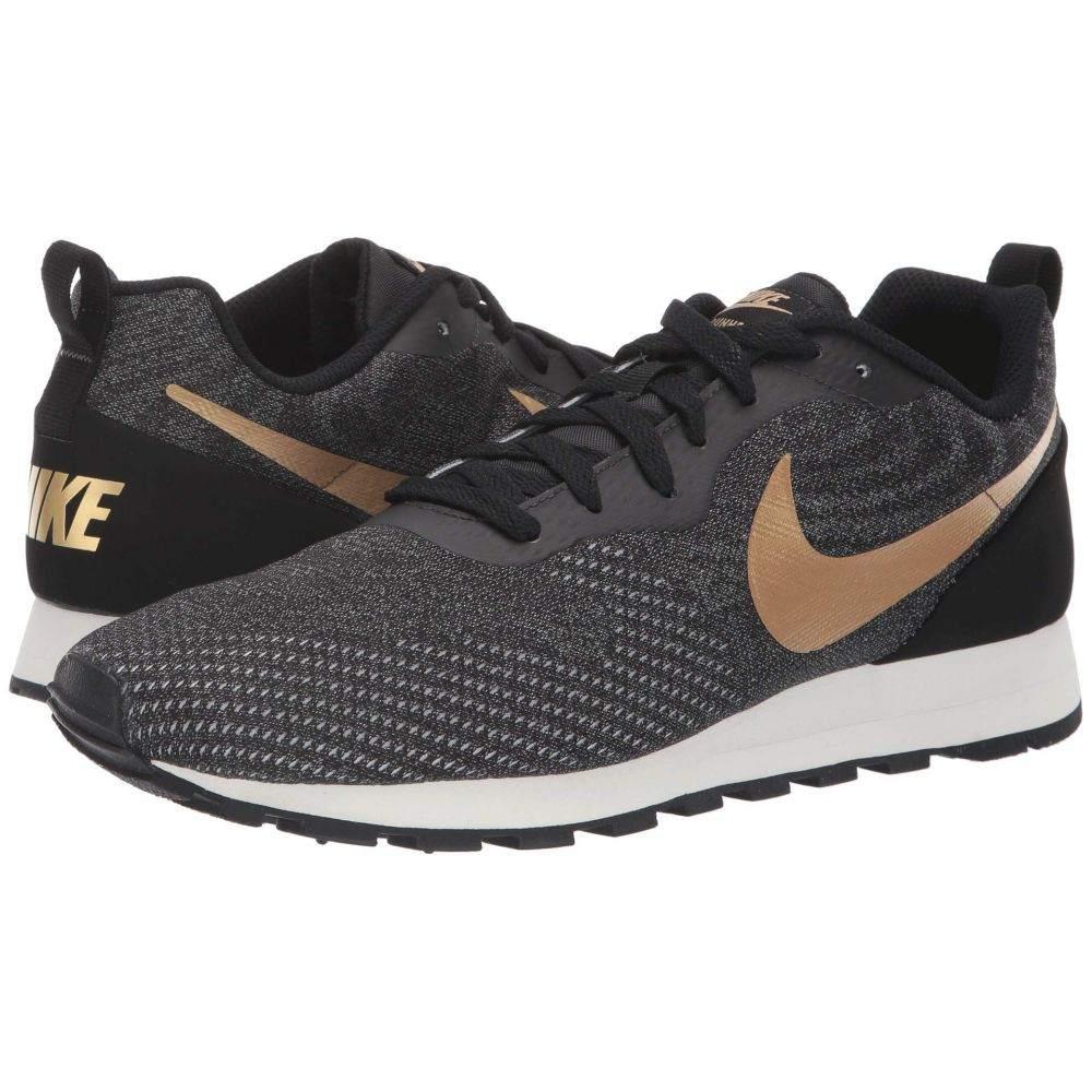 ナイキ Nike メンズ ランニング・ウォーキング シューズ・靴【MD Runner 2 Eng Mesh】Black/Metallic Gold/Cool Grey/Phantom