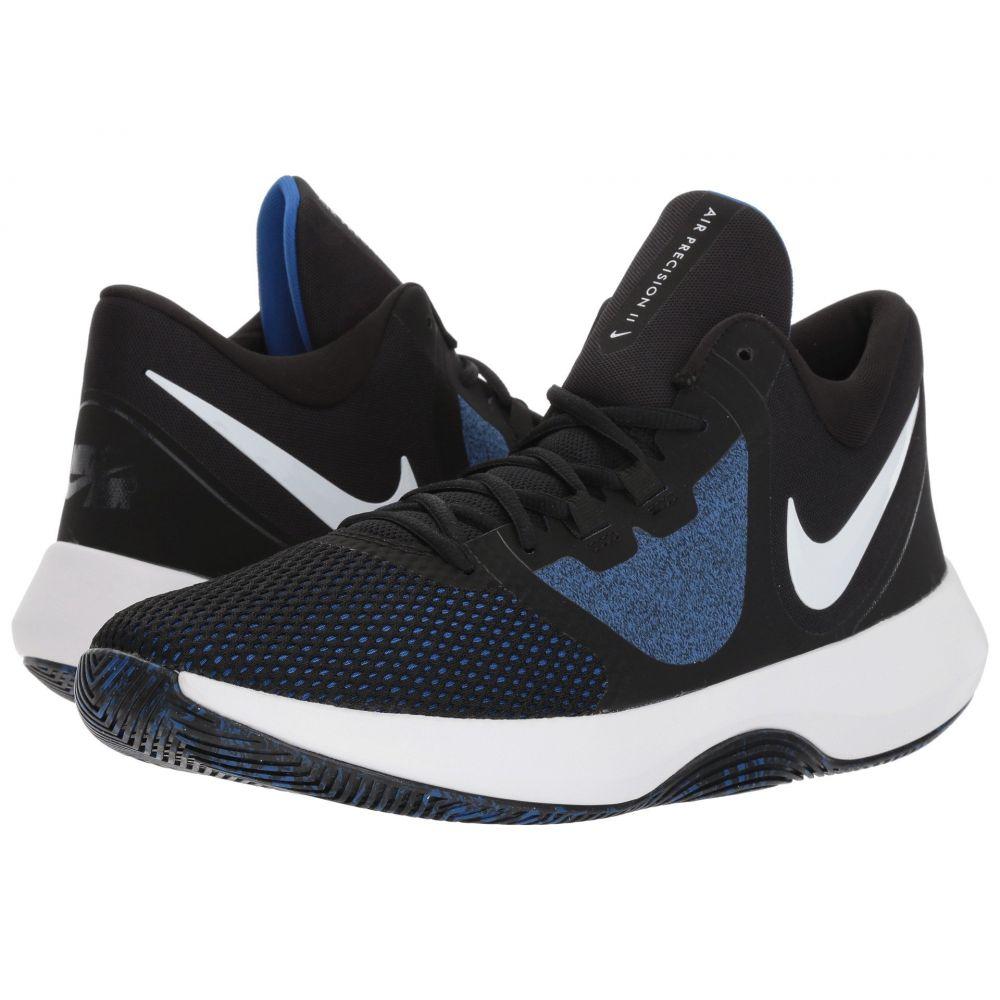 ナイキ Nike メンズ バスケットボール シューズ・靴【Air Precision II】Black/White/Game Royal