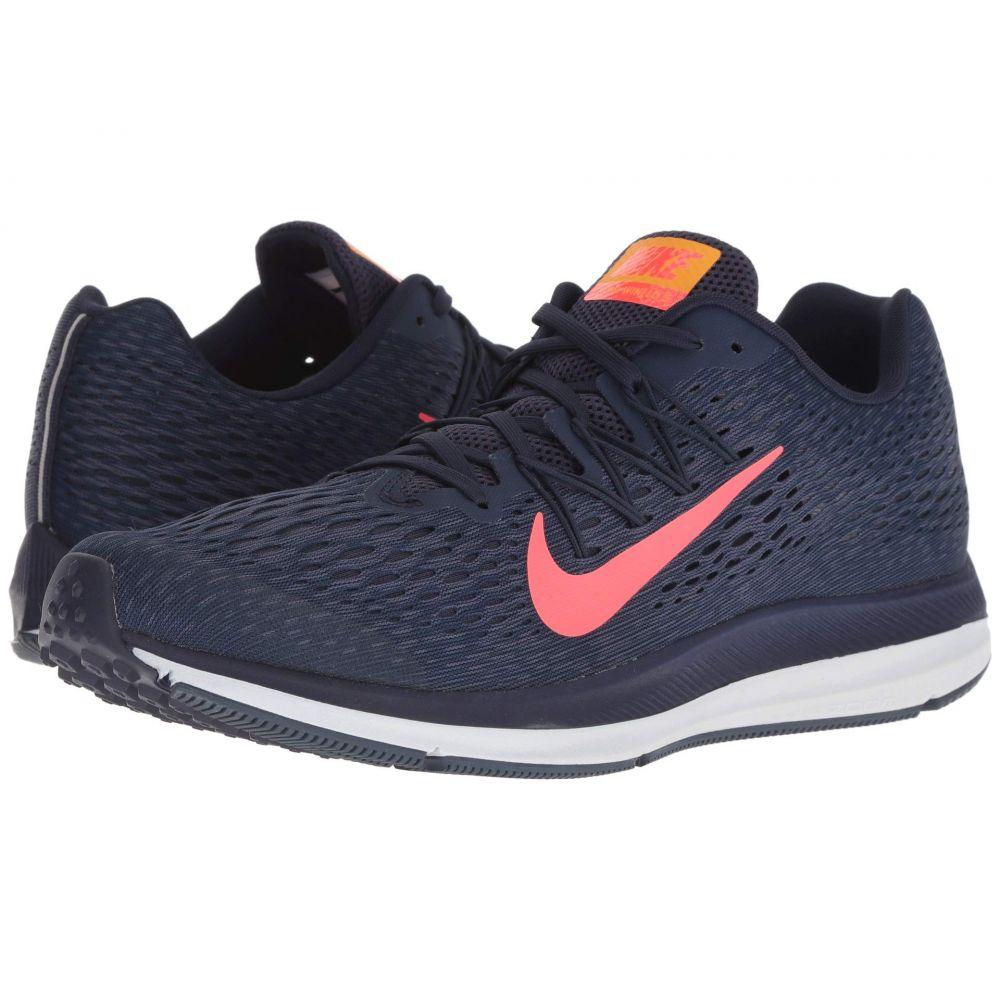 ナイキ Nike メンズ ランニング・ウォーキング シューズ・靴【Air Zoom Winflo 5】Blackened Blue/Flash Crimson
