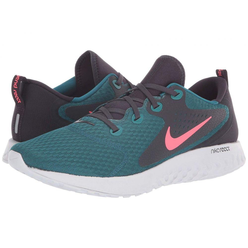 ナイキ Nike メンズ ランニング・ウォーキング シューズ・靴【Legend React】Geode Teal/Hot Punch/Oil Grey/Vast Grey