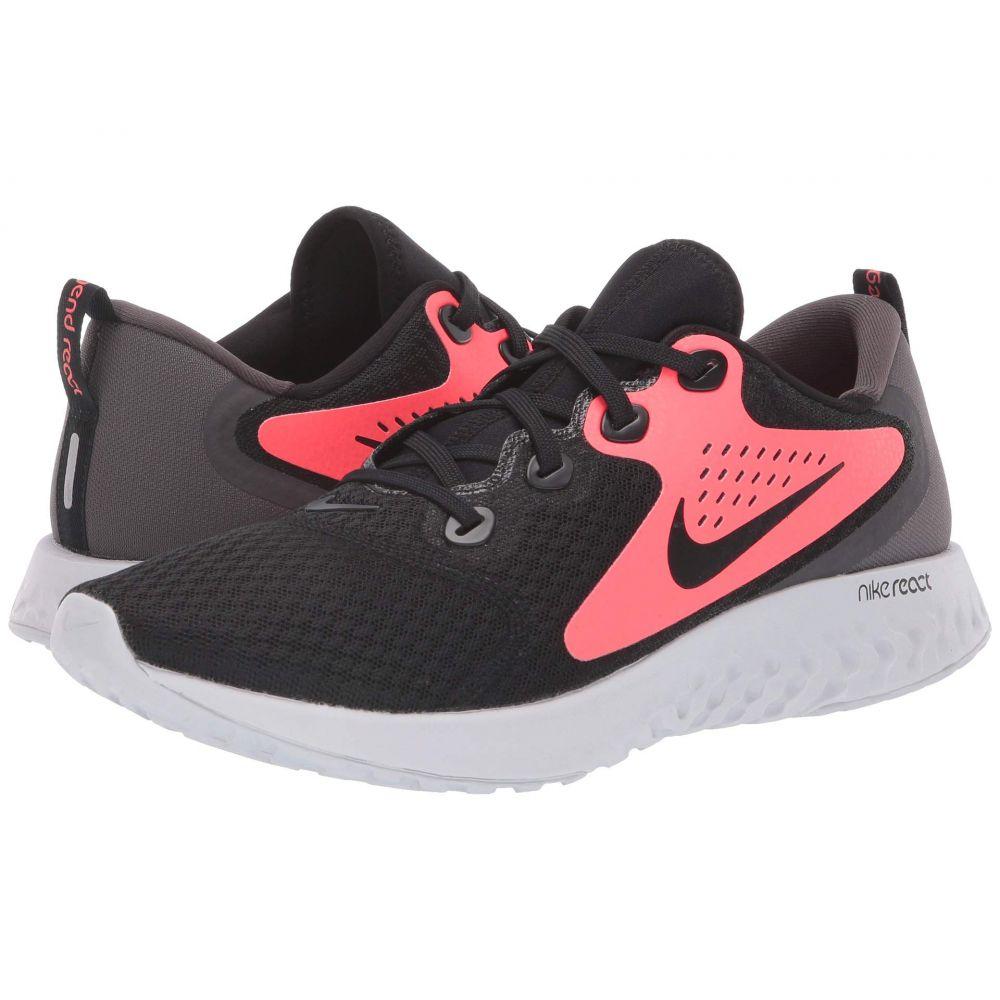 ナイキ Nike メンズ ランニング・ウォーキング シューズ・靴【Legend React】Black/Black/Flash Crimson/Thunder Grey