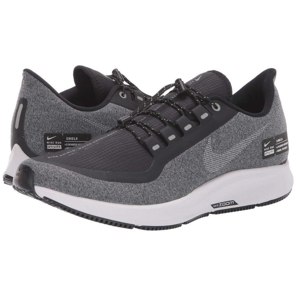 ナイキ Nike メンズ ランニング・ウォーキング シューズ・靴【Air Zoom Pegasus 35 Shield】Black/Metallic Silver/Cool Grey