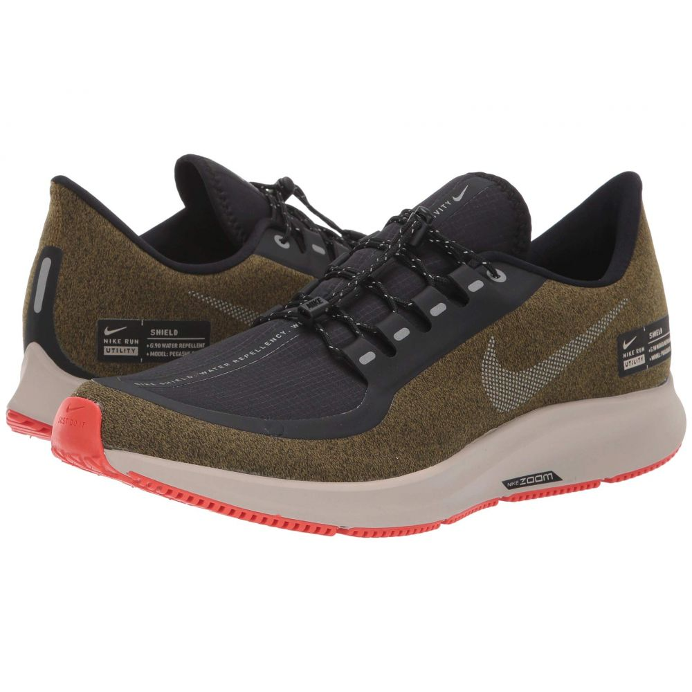 ナイキ Nike メンズ ランニング・ウォーキング シューズ・靴【Air Zoom Pegasus 35 Shield】Olive Flak/Metallic Silver/Black/String