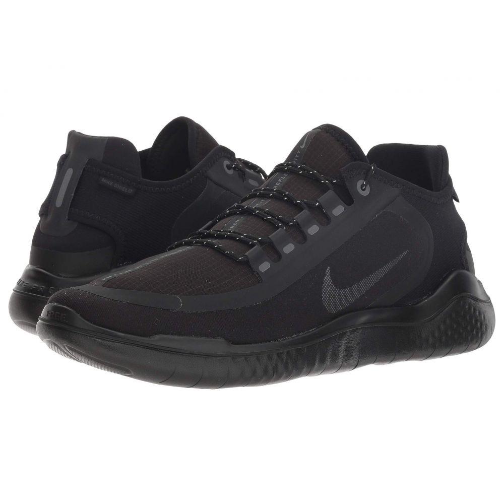 ナイキ Nike メンズ ランニング・ウォーキング シューズ・靴【Free RN 2018 Shield】Black/Anthracite/Anthracite
