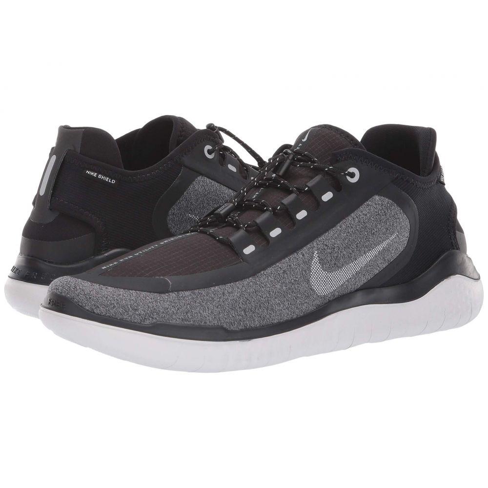 ナイキ Nike メンズ ランニング・ウォーキング シューズ・靴【Free RN 2018 Shield】Black/Metallic Silver/Cool Grey