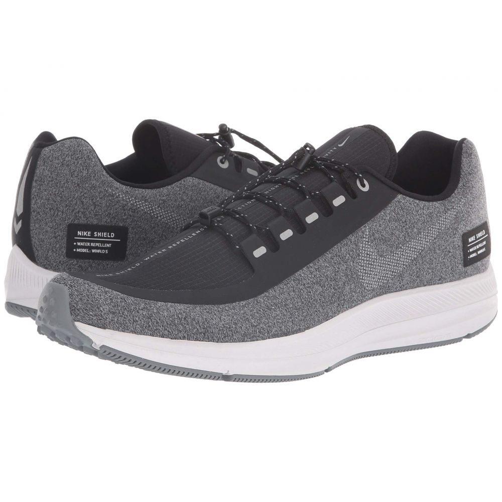 ナイキ Nike メンズ ランニング・ウォーキング シューズ・靴【Air Zoom WInflo 5 Run Shield】Black/Metallic Silver/Cool Grey