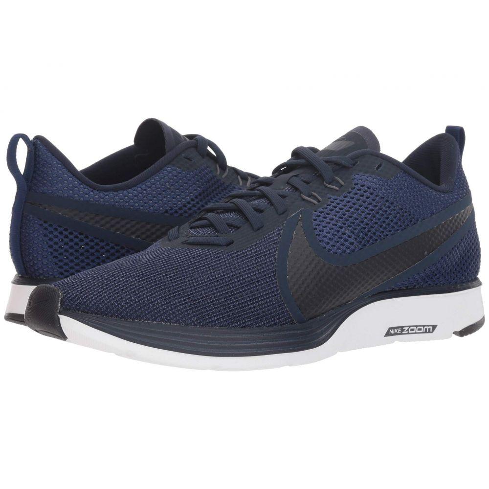 ナイキ Nike メンズ ランニング・ウォーキング シューズ・靴【Zoom Strike 2 Running Shoe】Obsidian/Blue Void/Thunder Grey/White