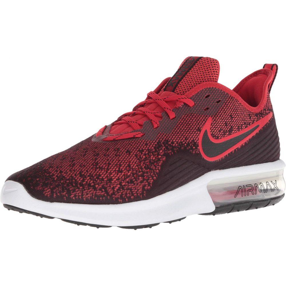 ナイキ Nike メンズ ランニング・ウォーキング シューズ・靴【Air Max Sequent 4】Black/Black/University Red