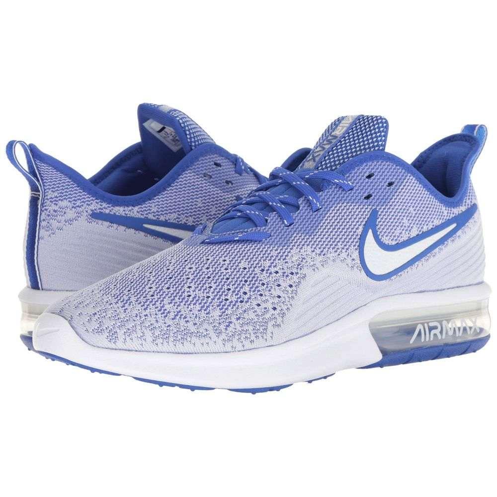 ナイキ Nike メンズ ランニング・ウォーキング シューズ・靴【Air Max Sequent 4】White/White/Hyper Royal