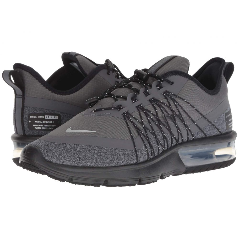 ナイキ Nike レディース ランニング・ウォーキング シューズ・靴【Air Max Sequent 4 Shield】Dark Grey/Metallic Silver/Black