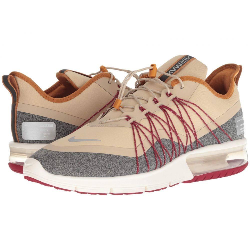 ナイキ Nike メンズ ランニング・ウォーキング シューズ・靴【Air Max Sequent 4 Shield】Desert Ore/Metallic Silver/Desert Ochre