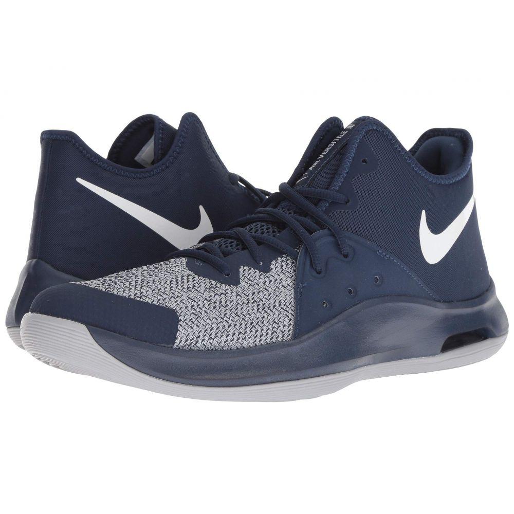 ナイキ Nike メンズ バスケットボール シューズ・靴【Air Versitile III】Midnight Navy/White/Wolf Grey