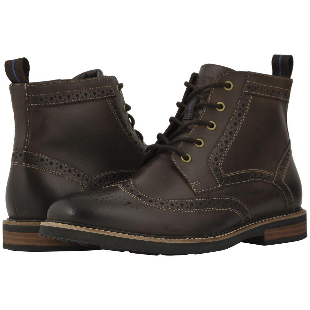 ナンブッシュ Nunn Bush メンズ シューズ・靴 ブーツ【Odell Wingtip Boot with KORE Walking Comfort Technology】Brown CH