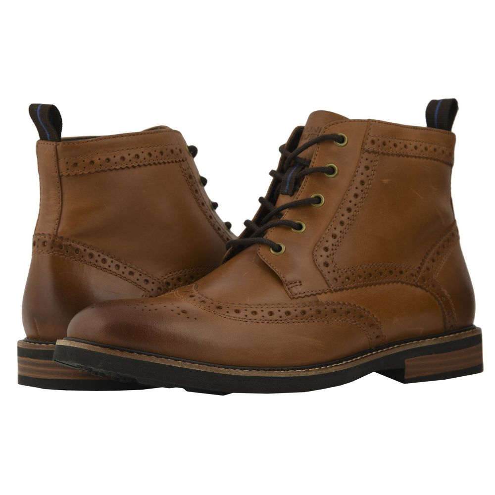 ナンブッシュ Nunn Bush メンズ シューズ・靴 ブーツ【Odell Wingtip Boot with KORE Walking Comfort Technology】Tan CH