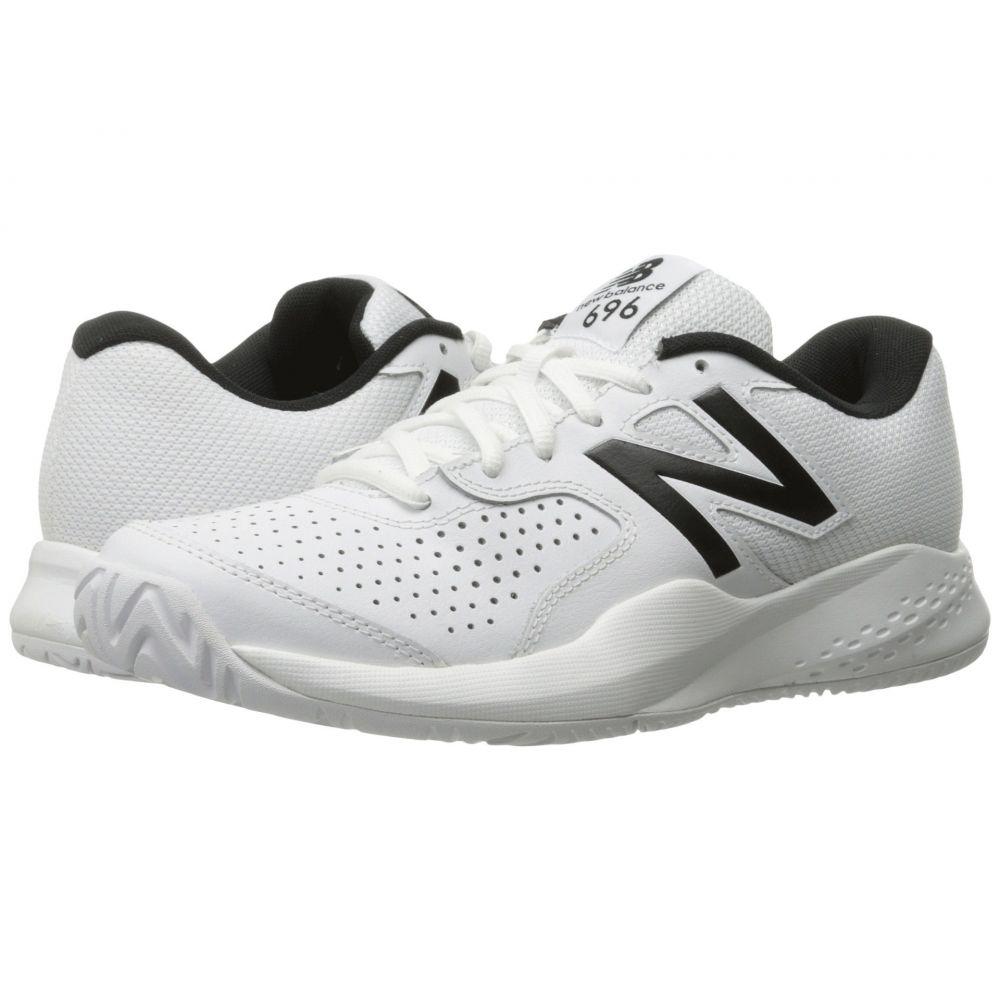 ニューバランス New Balance メンズ テニス シューズ・靴【MC696v3】White/White