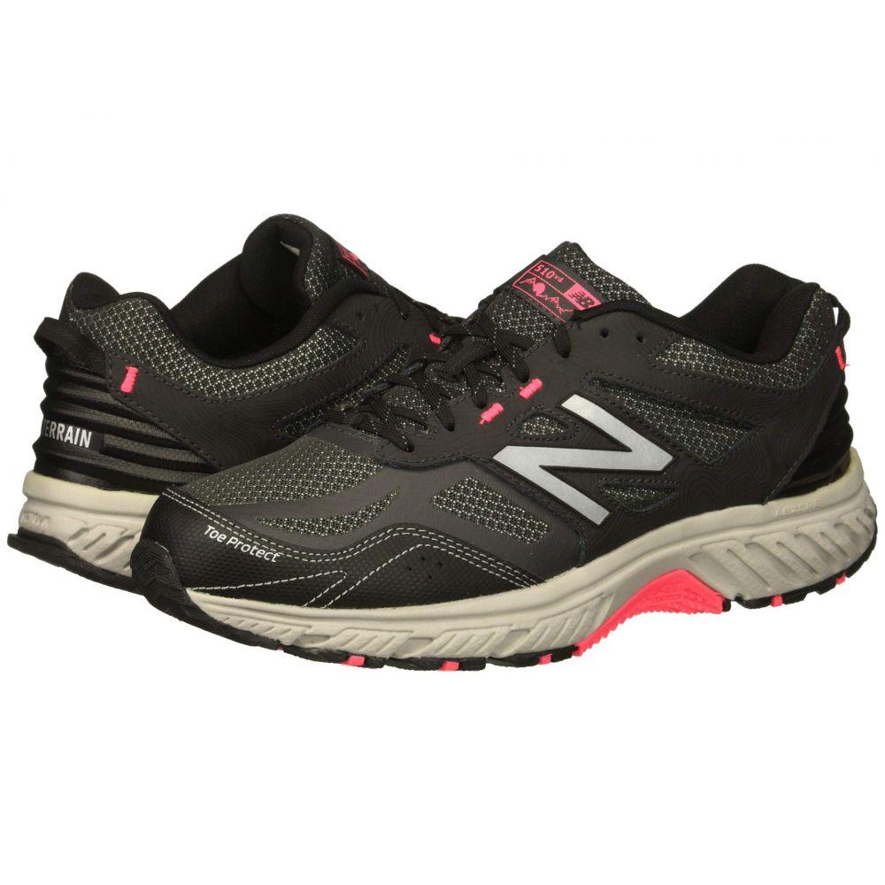 【はこぽす対応商品】 ニューバランス Zing Balance New ニューバランス Balance レディース ランニング・ウォーキング シューズ・靴【510v4】Black/Phantom/Pink Zing, 七ヶ浜町:15c1af66 --- konecti.dominiotemporario.com