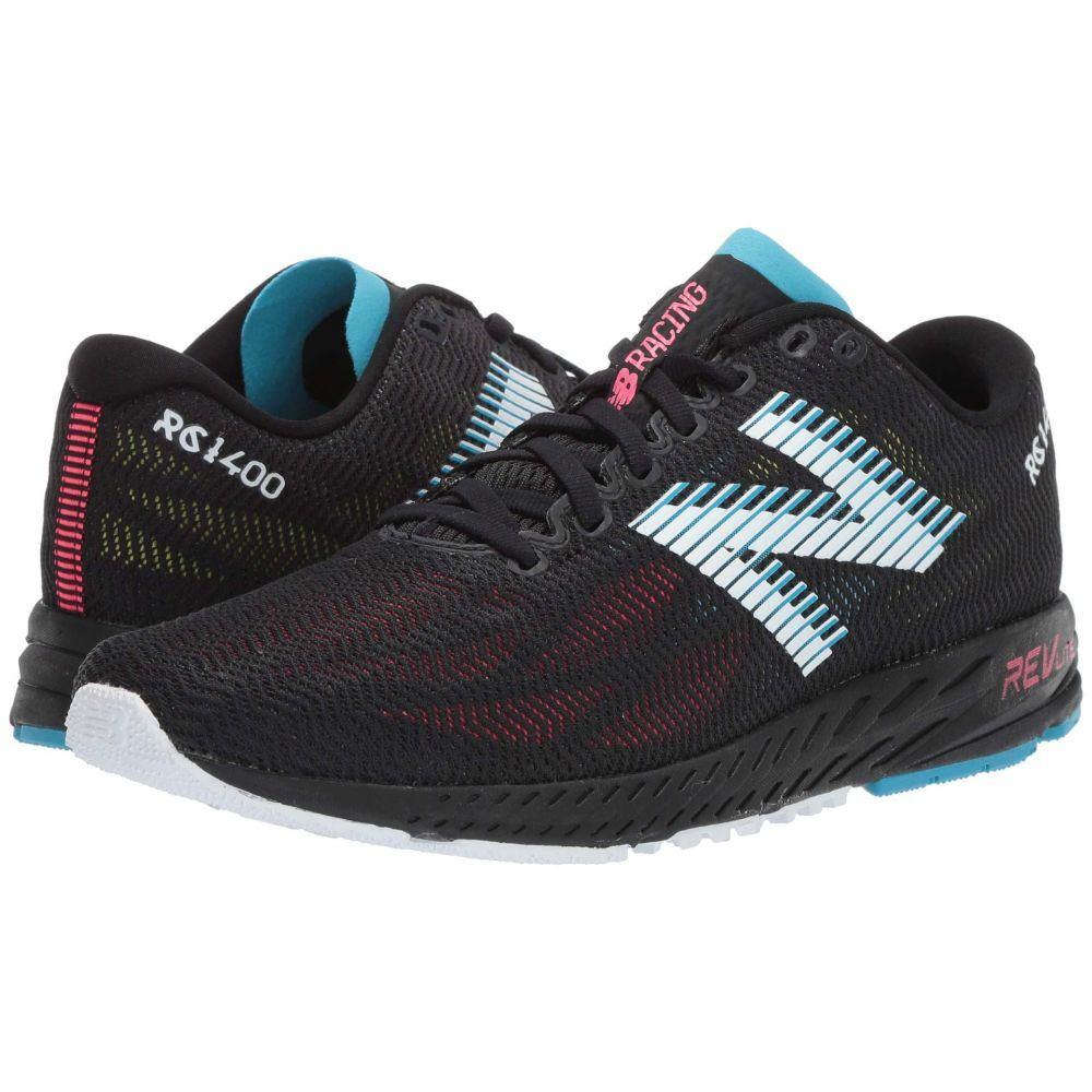 ニューバランス New Balance レディース ランニング・ウォーキング シューズ・靴【1400v6】Black/Pink Zing
