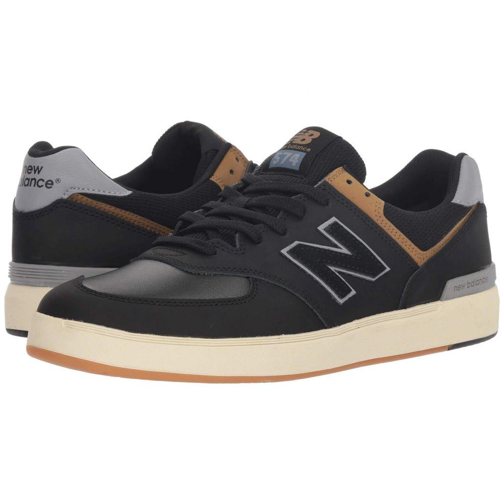 ニューバランス New Balance Numeric メンズ シューズ・靴 スニーカー【AM574】Black/Tarnish