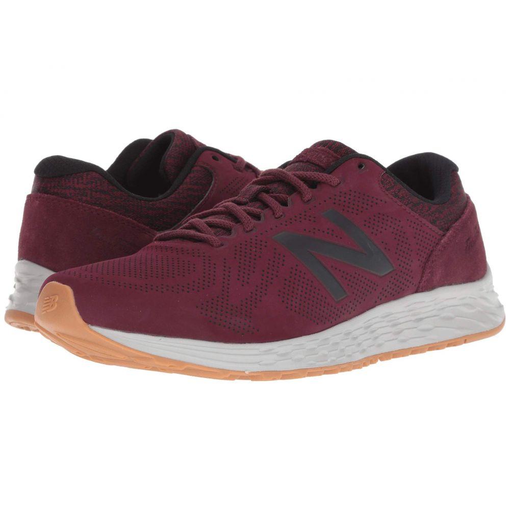 ニューバランス New Balance メンズ ランニング・ウォーキング シューズ・靴【Fresh Foam Arishi Luxe】NB Burgundy/Black