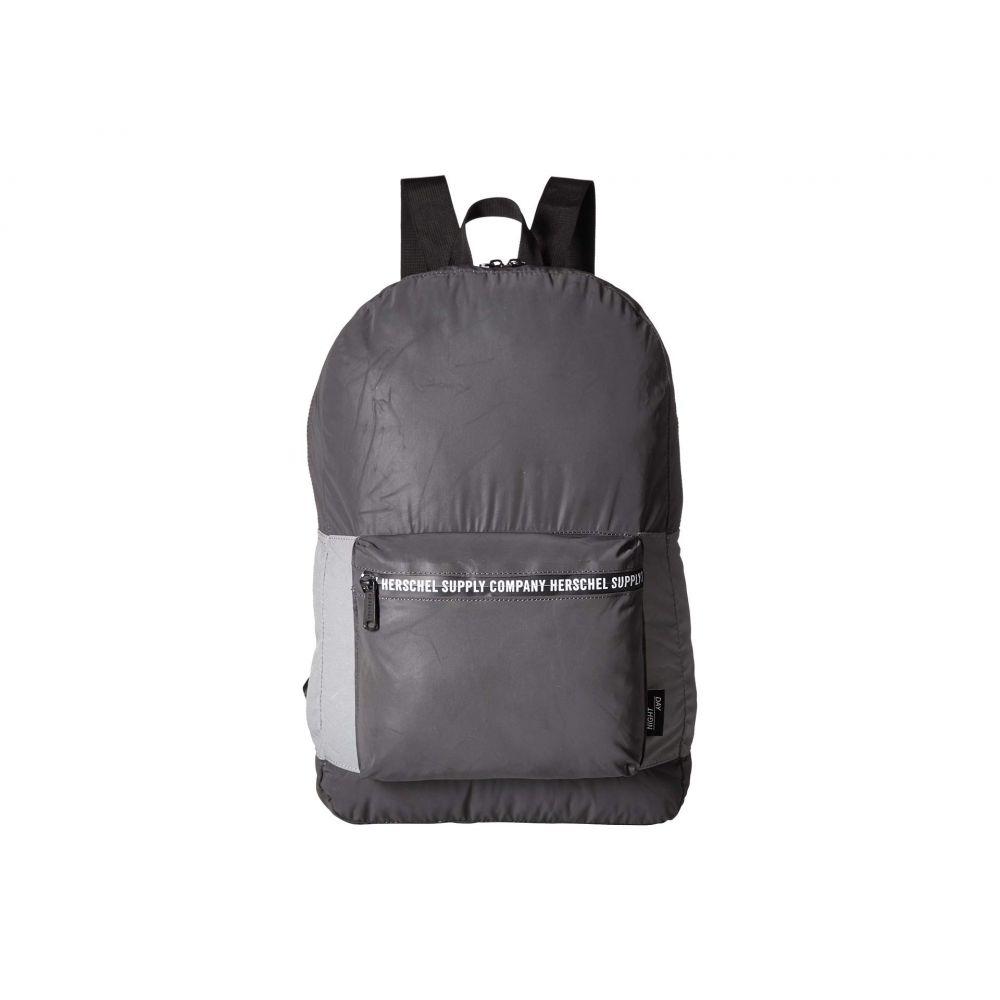 ハーシェル サプライ Herschel Supply Co. レディース バッグ バックパック・リュック【Packable Daypack】Black Reflective/Silver Reflective