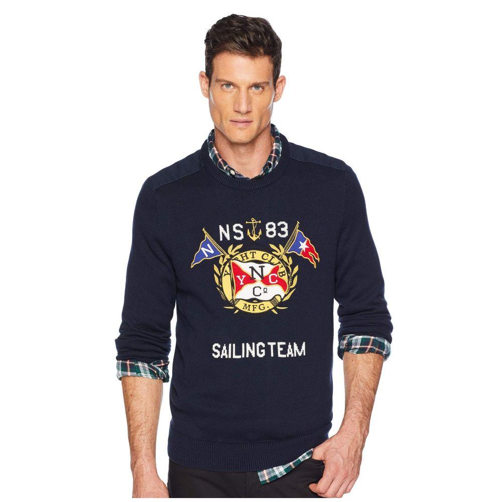 ノーティカ Nautica メンズ トップス ニット・セーター【9GG Graphic Crew Sweater】Navy