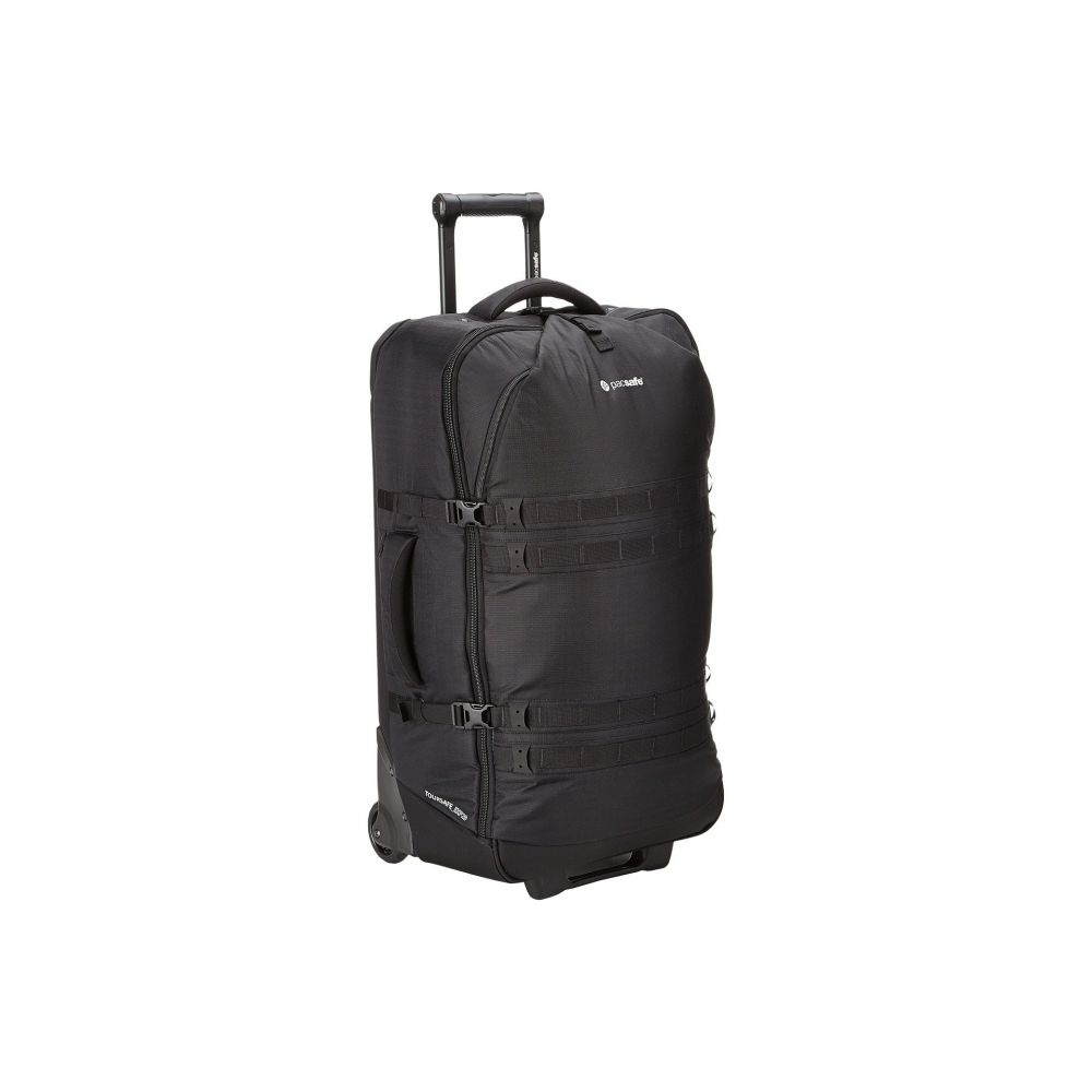 パックセイフ Pacsafe レディース バッグ スーツケース・キャリーバッグ【Toursafe EXP29 Anti Theft Wheeled Gear Bag】Black