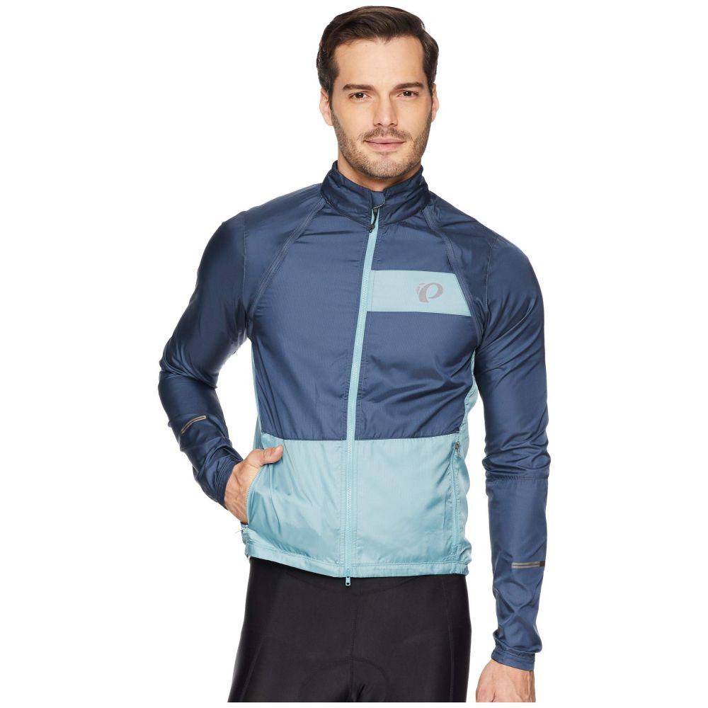 パールイズミ Pearl Izumi メンズ 自転車 アウター【Elite Barrier Convertible Cycling Jacket】Midnight Navy/Arctic