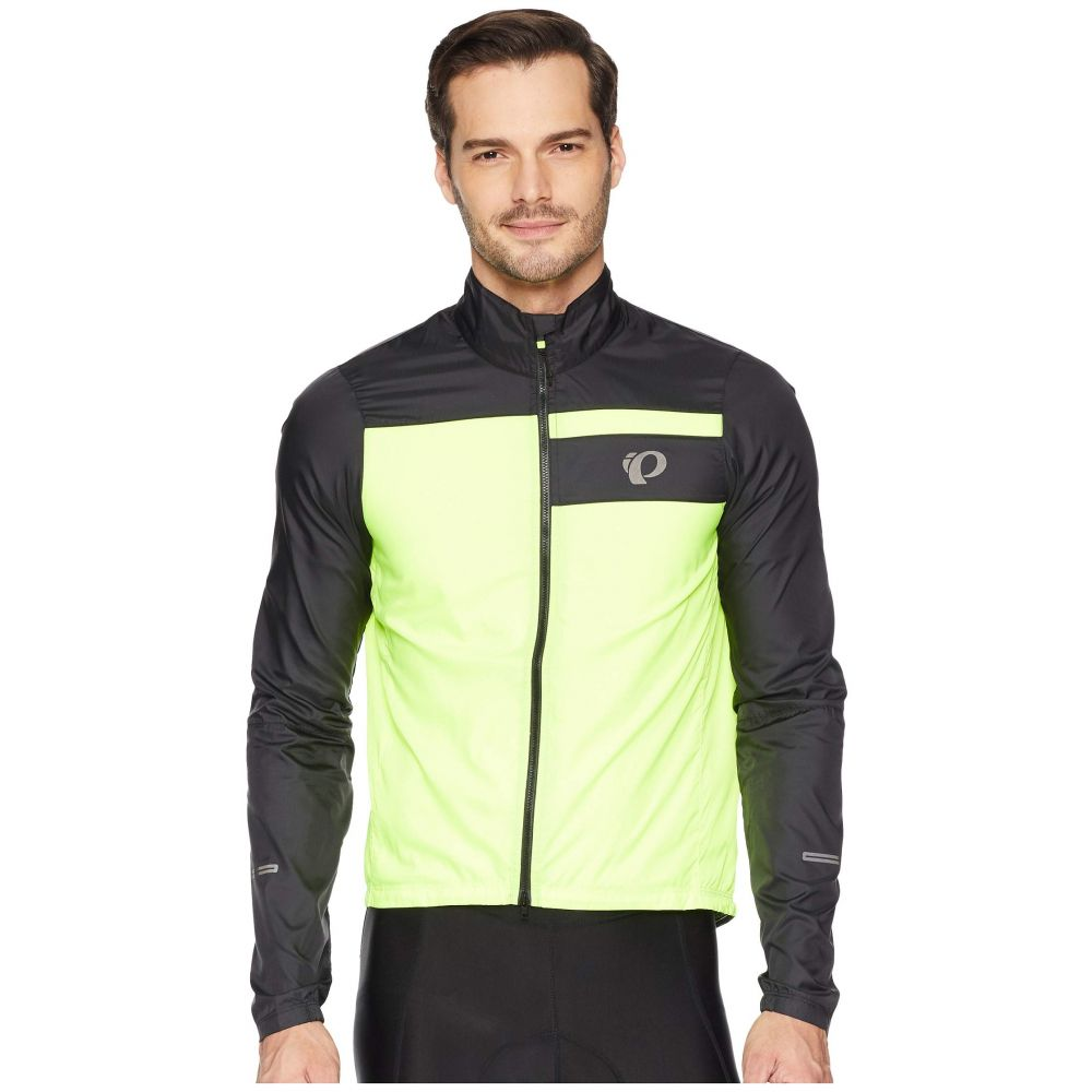 パールイズミ Pearl Izumi メンズ 自転車 アウター【ELITE Barrier Cycling Jacket】Black/Screaming Yellow