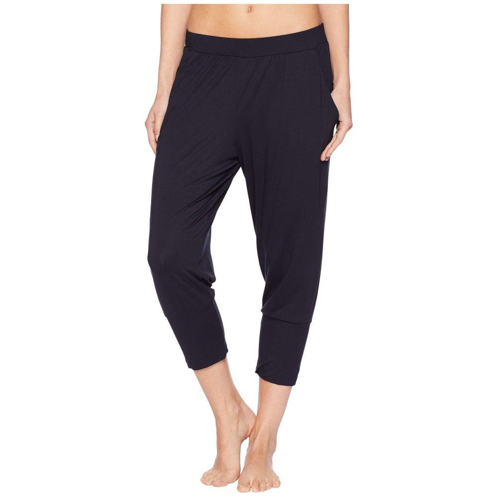 ハンロ Hanro レディース ヨガ・ピラティス ボトムス・パンツ【Yoga Crop Pants】Black