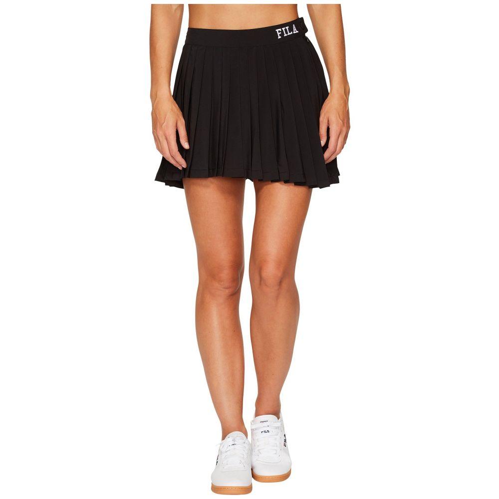 フィラ Fila レディース テニス ボトムス・パンツ【Lauryn Tennis Skirt】Black