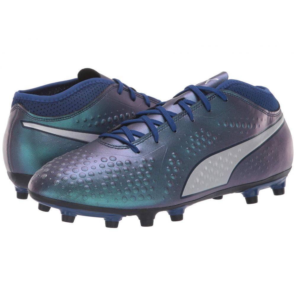 プーマ PUMA メンズ サッカー シューズ・靴【One 4 Synthetic FG】Sodalite Blue/Puma Silver/Peacoat