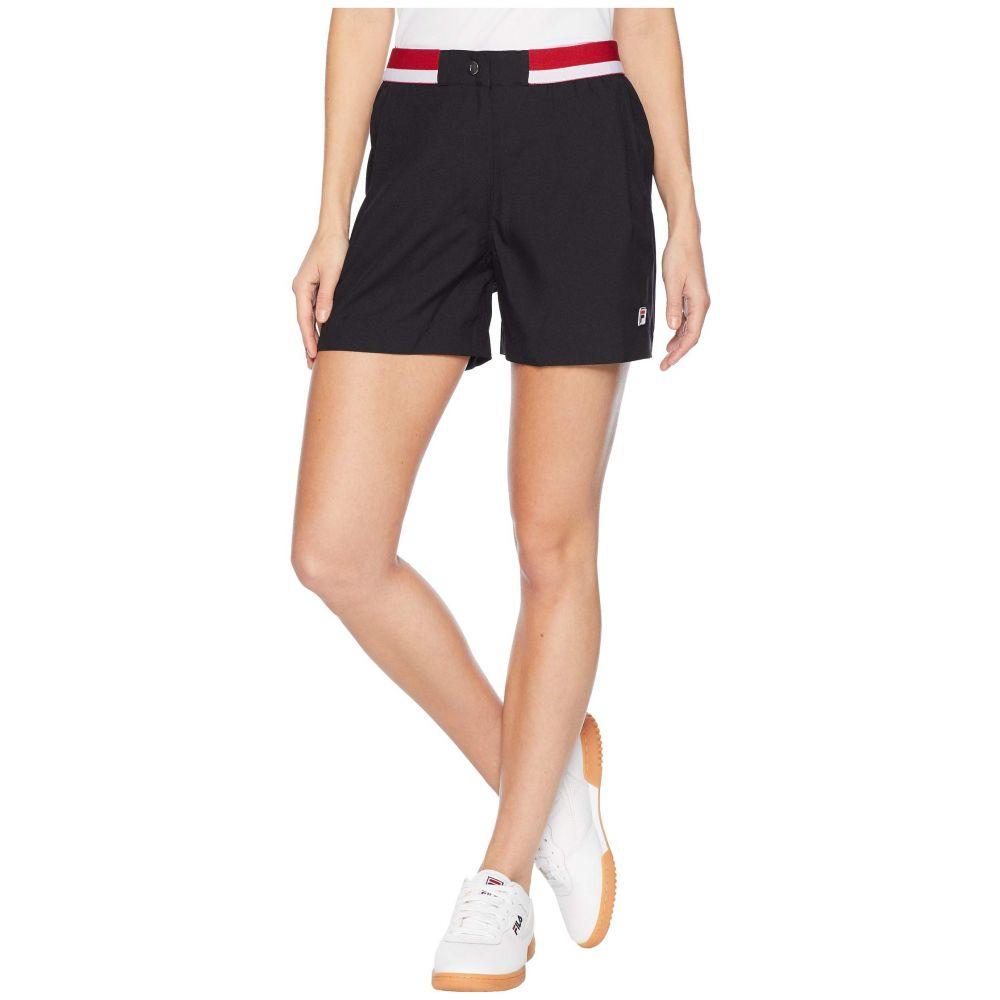 フィラ Fila レディース テニス ボトムス・パンツ【Heritage Tennis Shorts】Black