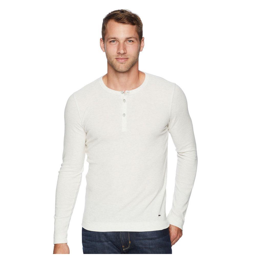 ヒューゴ ボス BOSS Orange メンズ トップス Tシャツ【Trix Henley】Natural White