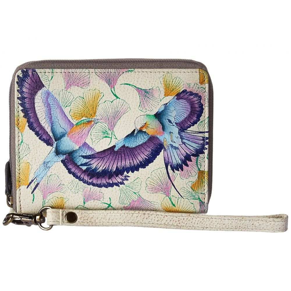 アヌシュカ Anuschka Handbags レディース 財布【1143 RFID Blocking Zip-Around Clutch Wallet】Wings of Hope