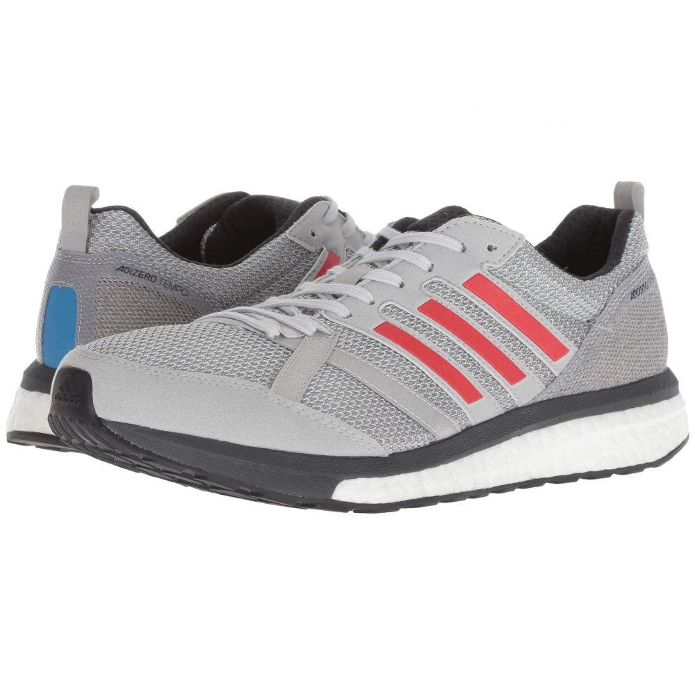 アディダス adidas Running メンズ ランニング・ウォーキング シューズ・靴【adiZero Tempo 9】Grey Two/Hi-Res Red/Carbon