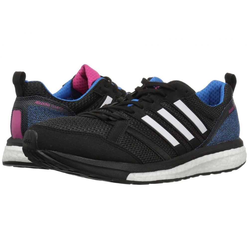 アディダス adidas Running レディース ランニング・ウォーキング シューズ・靴【adiZero Tempo 9】Black/White/Bright Blue
