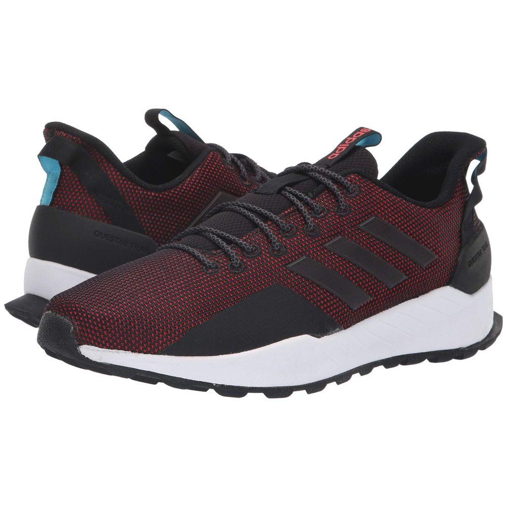 アディダス adidas Running メンズ ランニング・ウォーキング シューズ・靴【Questar Trail】Black/Black/Hi-Res Red