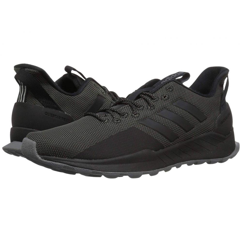 アディダス adidas Running メンズ ランニング・ウォーキング シューズ・靴【Questar Trail】Black/Black/Grey Five