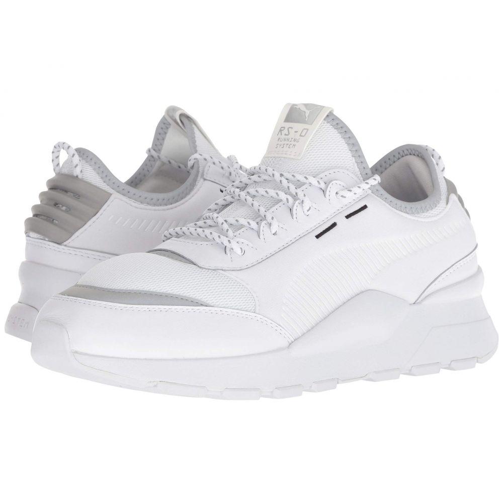プーマ PUMA メンズ ランニング・ウォーキング シューズ・靴【RS-0 Optic Pop】Puma White/Puma Silver