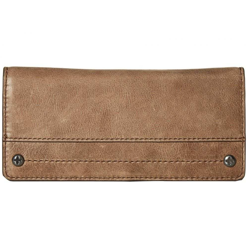 フライ Frye レディース 財布【Demi Slim Wallet】Grey Smooth Pull Up